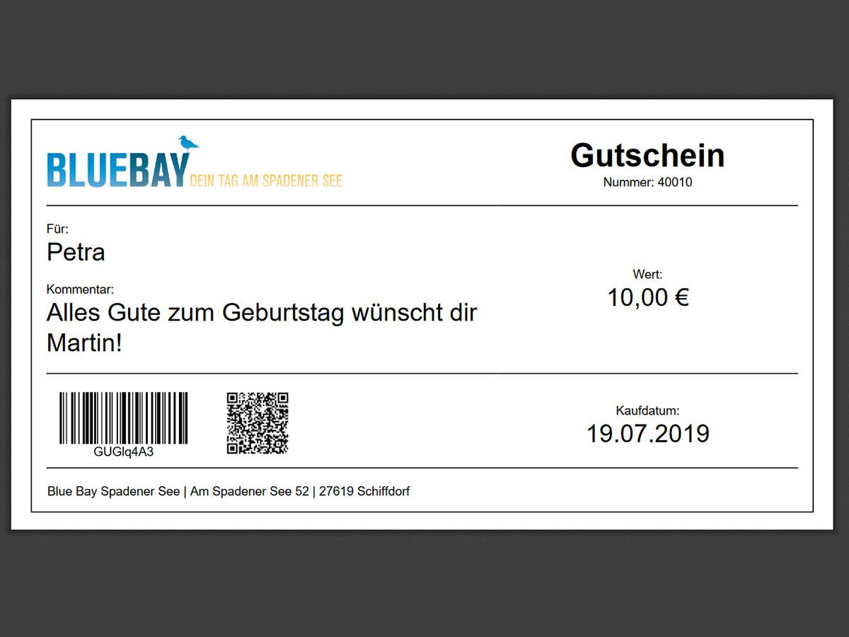 Gutschein 100,00 €