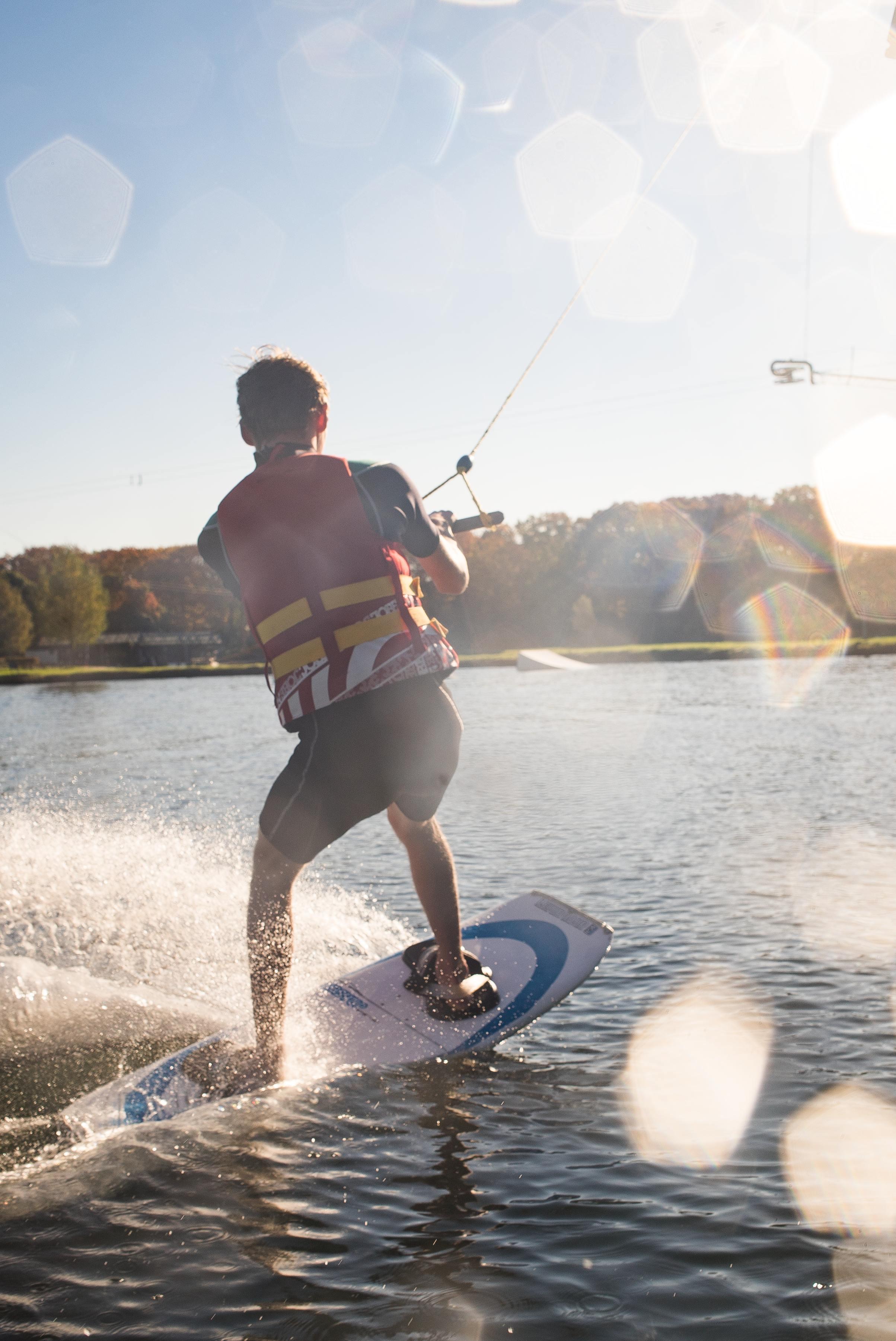 Anfänger & Beginner Training, 2 Stunden Wasserski & Wakeboard