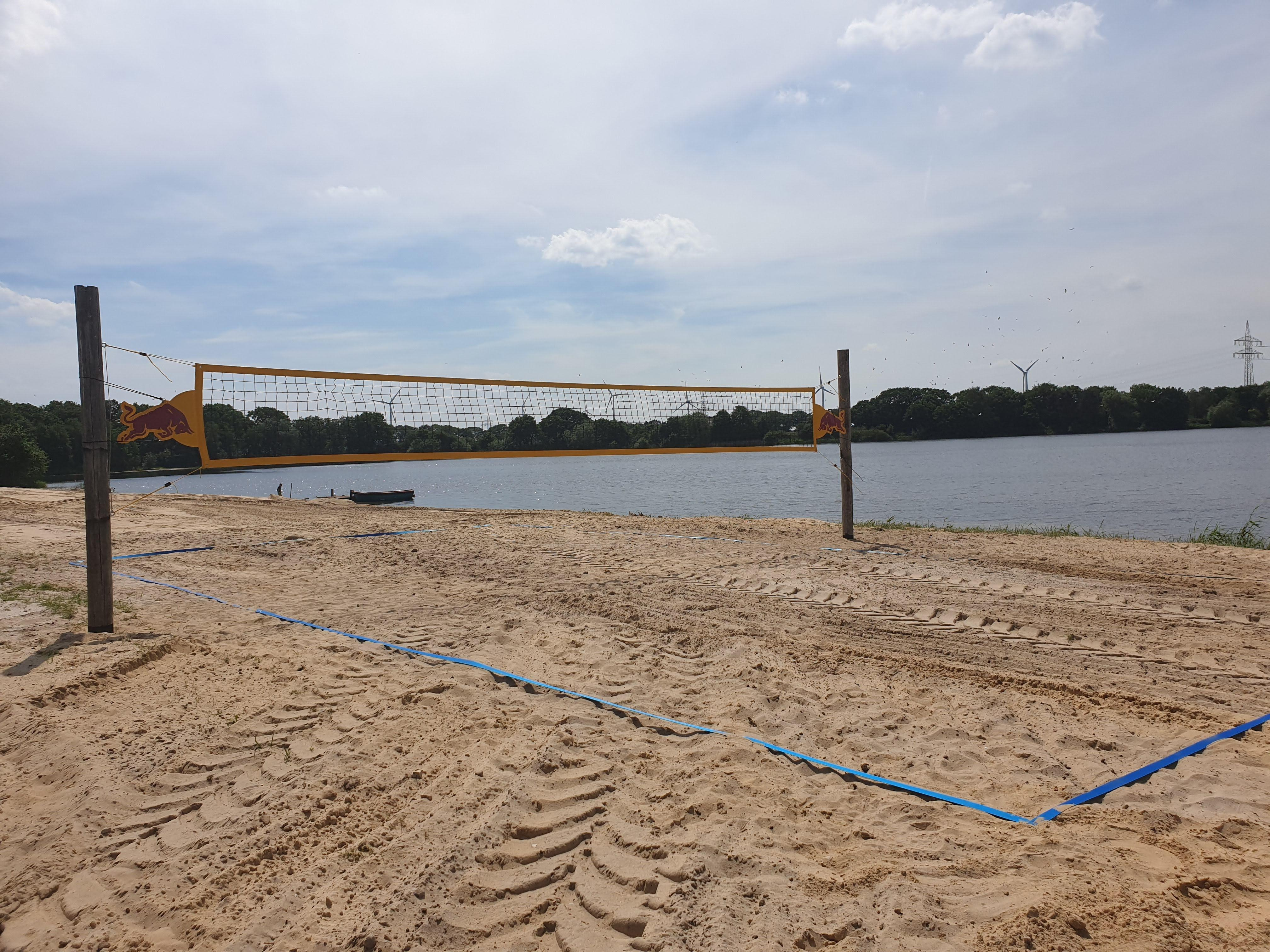Beachvolleybal Miete